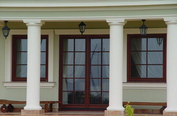Окна с декоративной раскладкой